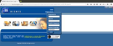 bca login coretan kecil internet banking bca bisnis dengan
