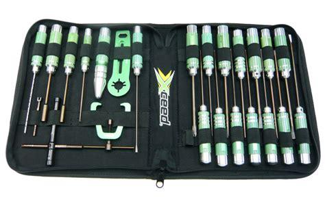 rc rc car news 187 xceed rc 24pcs tool set with bag