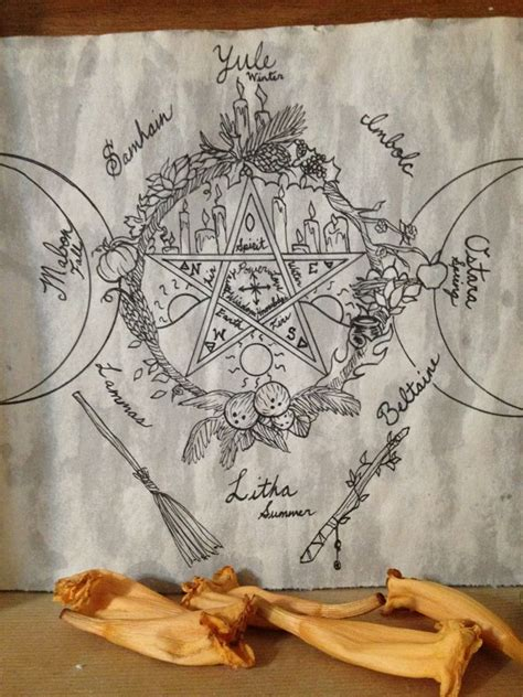 beautiful wiccan beautiful integration of wiccan symbols elements