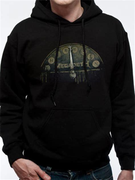 Hoodie Megadeth Xxxv Cloth 1 megadeth elevator hoodie tm shop