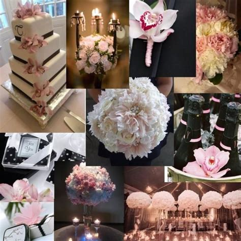 56 best images about Blush & Black Wedding on Pinterest