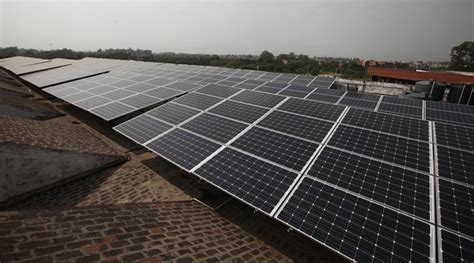 solar panel for home in india chandigarh rooftop solar plant green house inaugurated at government model school the indian