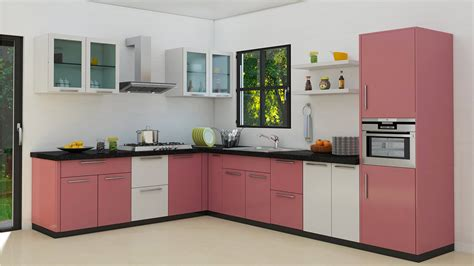 Modular Kitchen Designs India l shaped modular kitchen designs