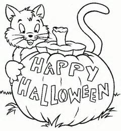 halloween coloring pages printable free easy halloween