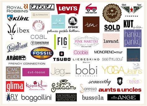 Brand Clothing An clothing brands of