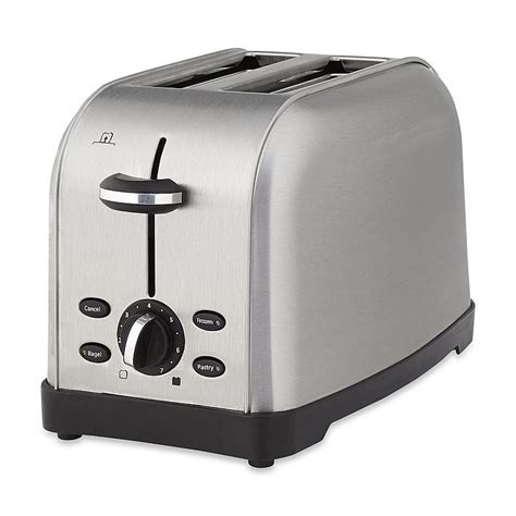 Oster Stainless Steel Toaster Oster Tssttrwf2s 001 2 Slice Toaster Brushed Stainless