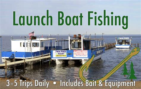 mille lacs lake bass boat rentals summer launch fishing twin pines resort 320 692 4413