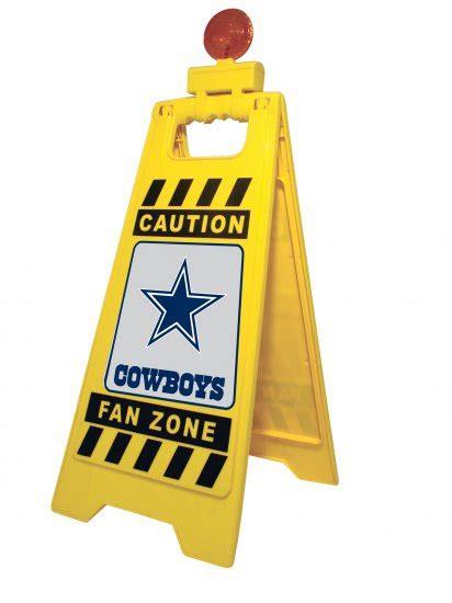 dallas cowboys fan zone dallas cowboys caution fan zone floor stand w light