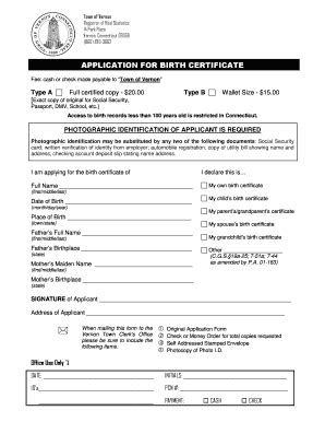 full birth certificate fee affidavit for birth certificate in english forms and