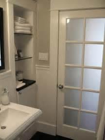 bathroom door glass classic style bathroom