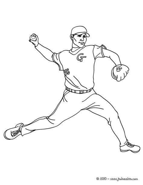 baseball player coloring pages az coloring pages
