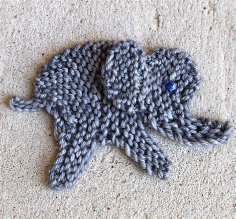 in the loop knitting elephant knitting patterns in the loop knitting