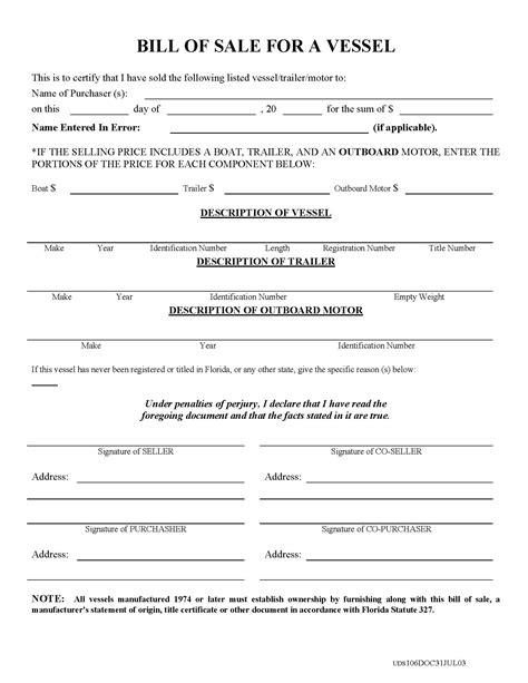 free texas boat bill of sale form pdf word doc pin free bill of sale texas on pinterest