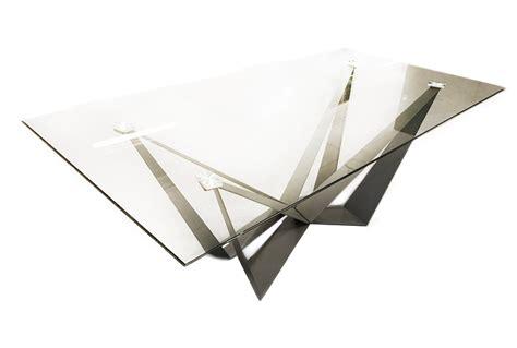 zimmer schiebetür glas glasbord med skulpturellt design
