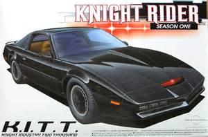 Knight rider season 1 kitt 1 24 scale model kit by aoshima knight