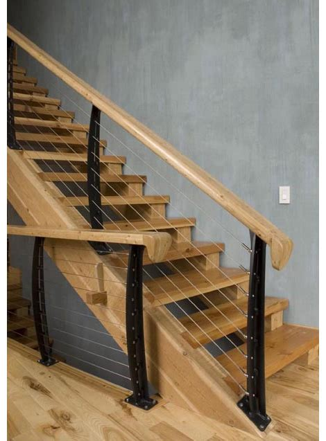 Cable Banister by Cable Railing System By Keuka Studios Ny