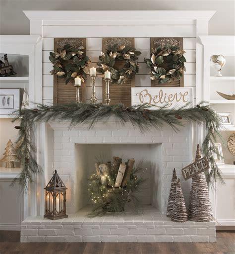 xmas decor for fireplace 25 unique kirklands christmas ideas on pinterest