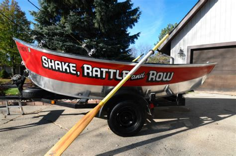 drift boat trailer for sale michigan 16 ft smokercraft aluminum drift boat and trailer for sale