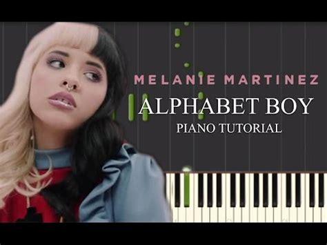 game boy keyboard tutorial alphabet boy melanie martinez piano tutorial youtube