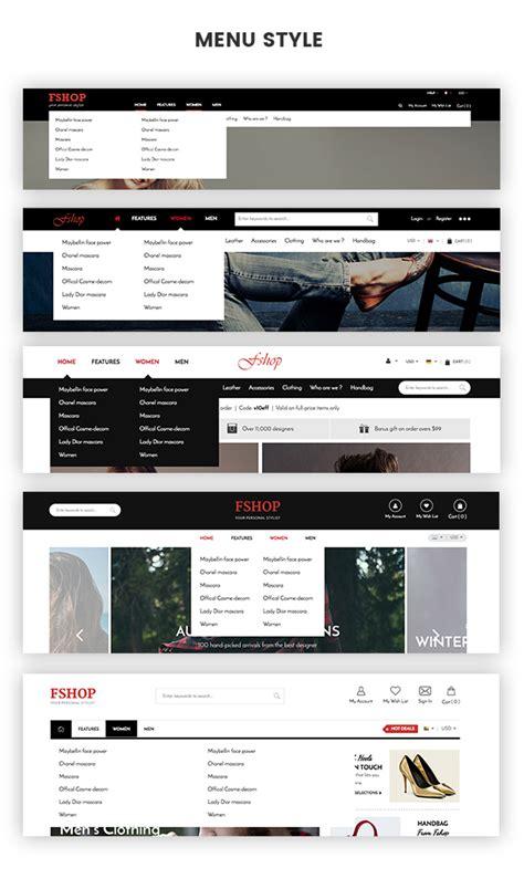 themes new menu style a delightful magento 2 fashion store theme sm fshop