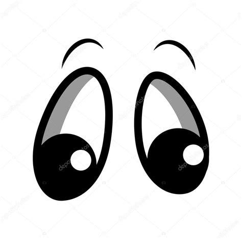 imagenes de ojos tristes animados yeux curieux dessin anim 233 image vectorielle baavli