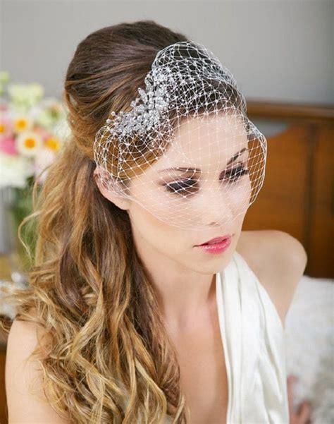 30 wedding hairstyles for long hair easyday wedding hairstyles for long hair with birdcage veil