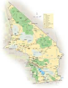 california desert map mapsof net
