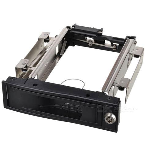 Hardisk Rack 3 5 quot sata disk drive rack mount drawer black silver free shipping dealextreme