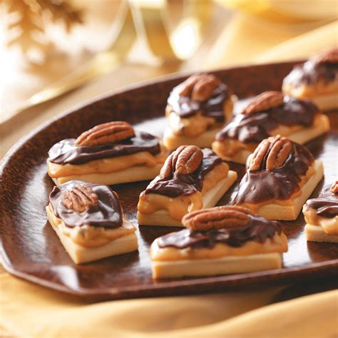 caramel pecan shortbread recipe taste of home