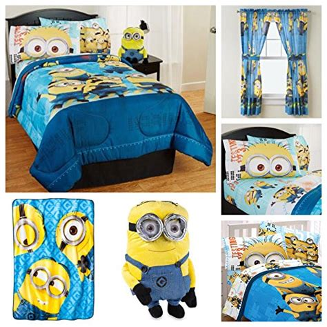 minion toddler bed set reversible comforters webnuggetz com