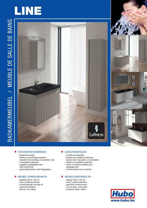 HUBO catalogue   Meuble de salle de bains Line   Page 1