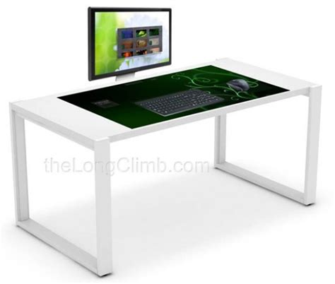 awesome exodesk has interactive 40 inch touchscreen