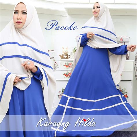 Bosolo Syari By Karaeng Hilda murah n ori collection paceko syar i by karaeng hilda