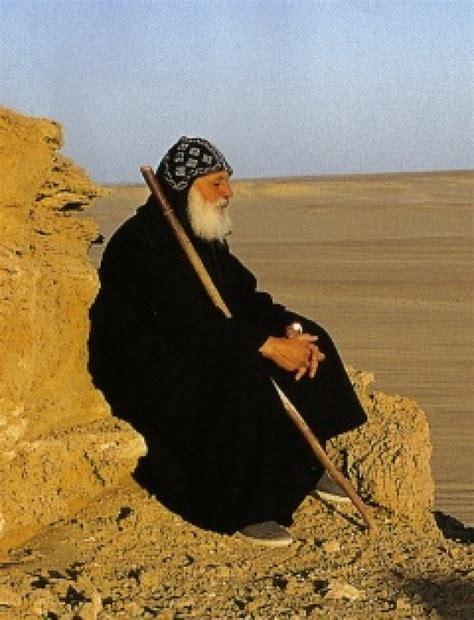 Coptic Monk | coptic monastic hood egypt