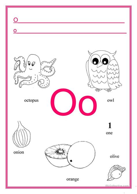 the new mungaka alphabet for beginners books alphabet letter o worksheet free esl printable