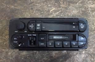 Chrysler Stereo Chrysler Dodge Jeep Am Fm Radio Cassette Stereo Audio