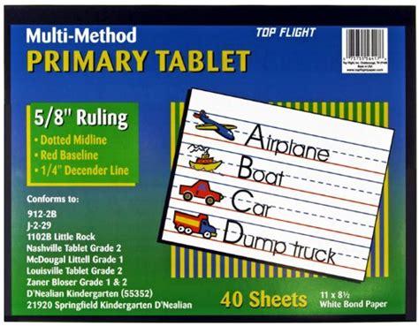 top flight multi method st grade primary tablet