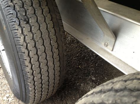 boat trailer tires uneven wear uneven trailer tire wear the hull truth boating and