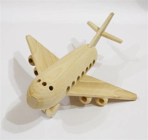Handcrafted Wooden Toys - airplane organic handcrafted wooden toys eco friendly