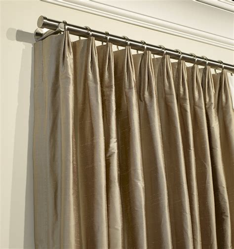 How To Make Pleated Drapes Without Pleater manhattan blended linen drapes drapestyle