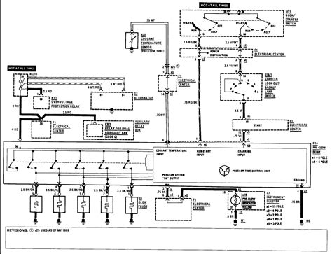 mercedes glow relay wiring diagram nissan relay