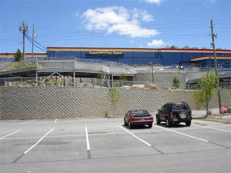 depot retaining walls