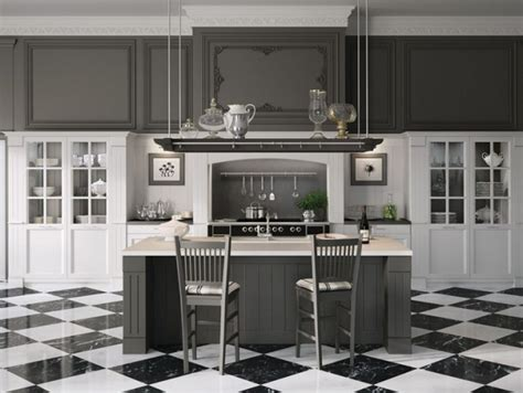 Cuisine Grise Et Blanche Design by Cuisine Blanche Et Grise 30 Designs Modernes Et 233 L 233 Gants