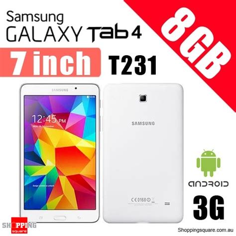 Samsung Tab 4 T231 Bekas samsung galaxy tab 4 8gb 3g with 7 0 inch display sm t231 tablet white shopping