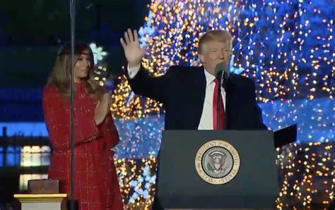 donald trump christmas speech christmas celebrates the birth of our lord and savior