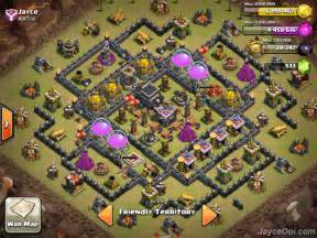 Download image war clash of clans th9 base pc android iphone and
