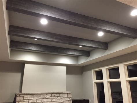 Ceiling Beams Faux by How To Install Faux Ceiling Beams Med Home Design