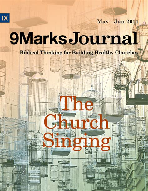 church discipline medicine for the 9marks journal books the church singing 9marks