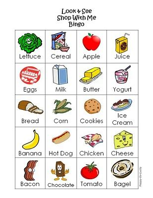 printable shopping list game recommended resource printable kids grocery shopping