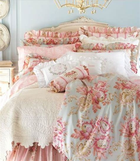 Red Shabby Chic Bedding by Shabby Chic Decor Casual Cottage